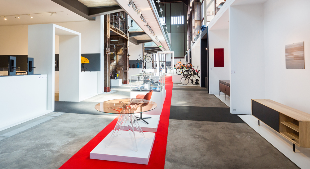"""Design on Stage"" exhibition in the Red Dot Design Museum Essen"
