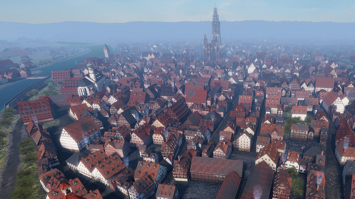 The city of Ulm