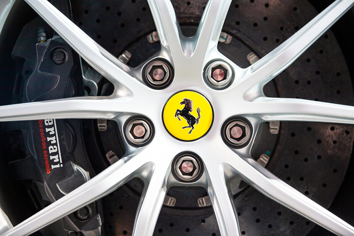 The Ferrari Design Team designers creates an incomparable driving and brand experience