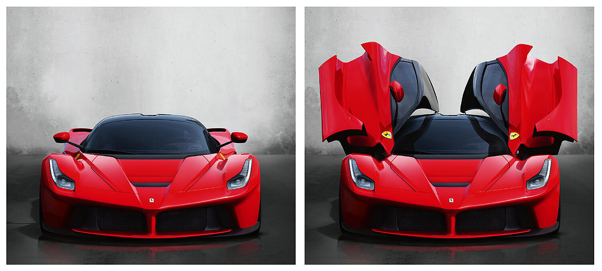 Success Story Ferrari Design