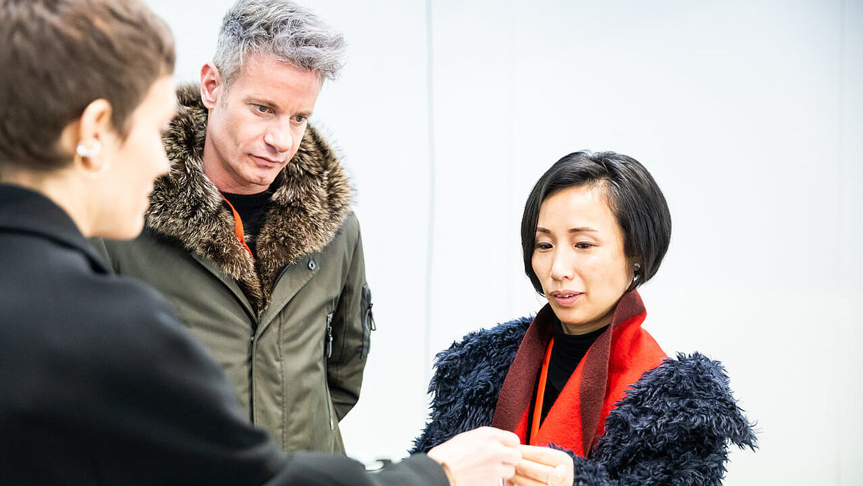 Saskia Diez, David Andersen and Jiang Qiong-Er