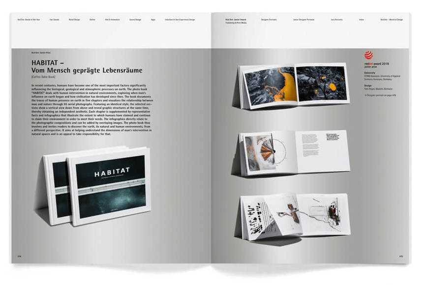 Concentrated Creativity Yearbook Eternalises Award Winning Communication Design Red Dot