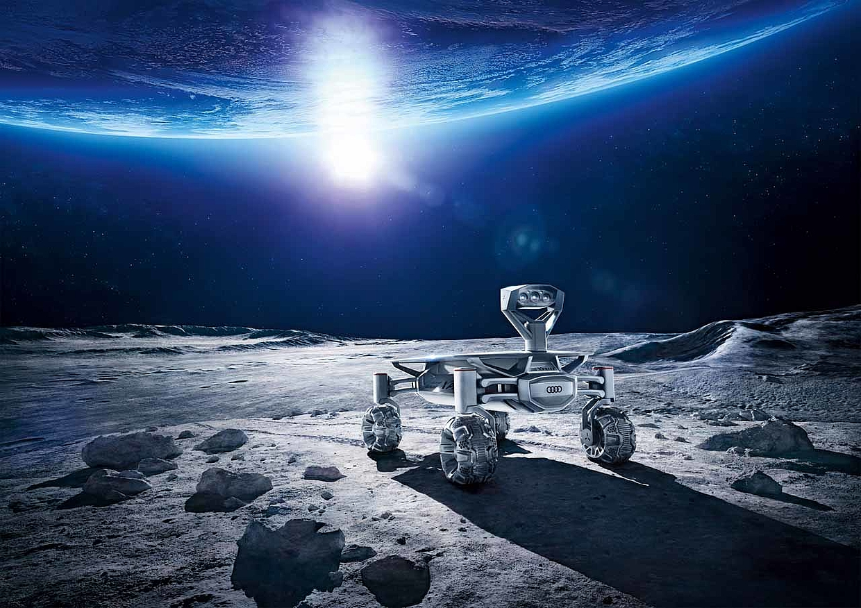 Audi Mission to the Moon