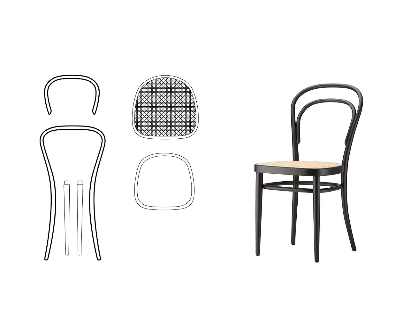 Stuhl nr 14 thonet stoel best thonet kinderstuhl genial - Thonet kinderstuhl ...