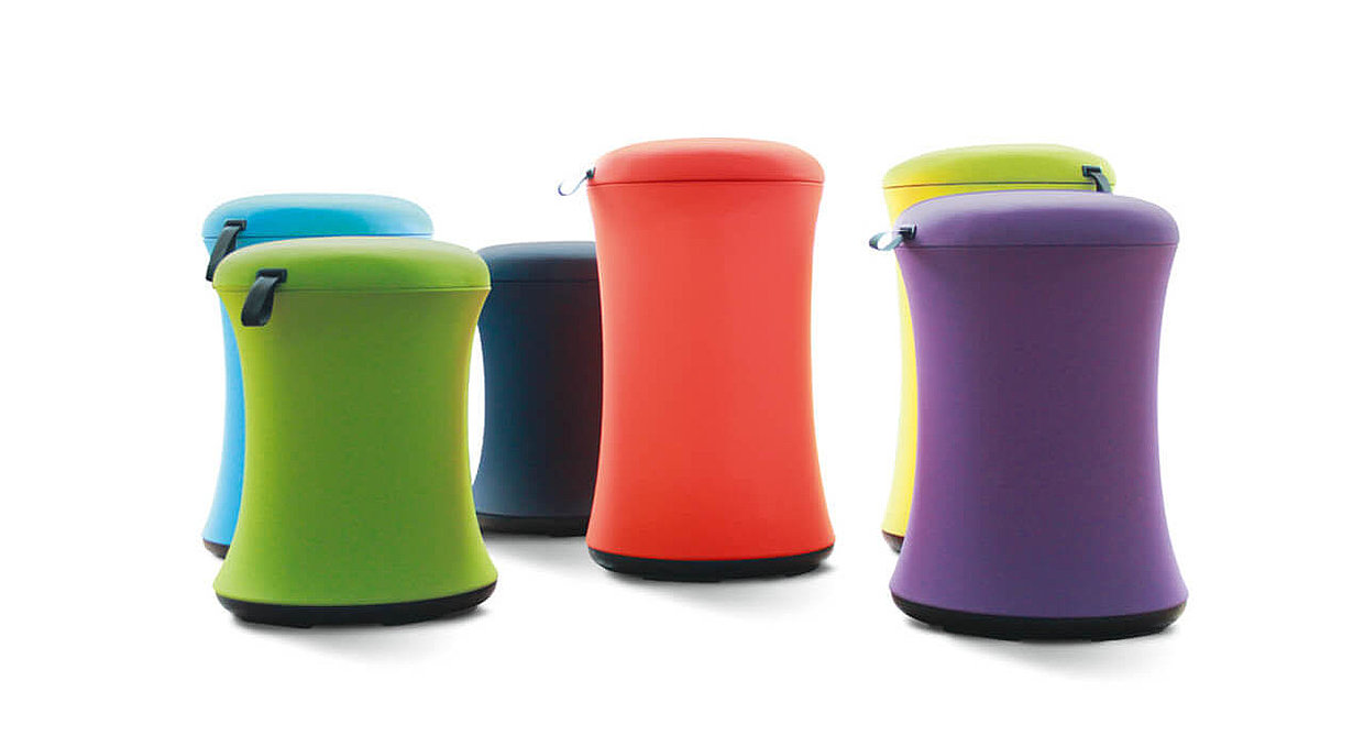 "The active stool ""uebobo"""