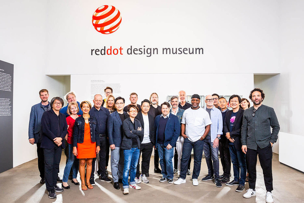 The jury of the Red Dot Award: Brands & Communication Design 2019