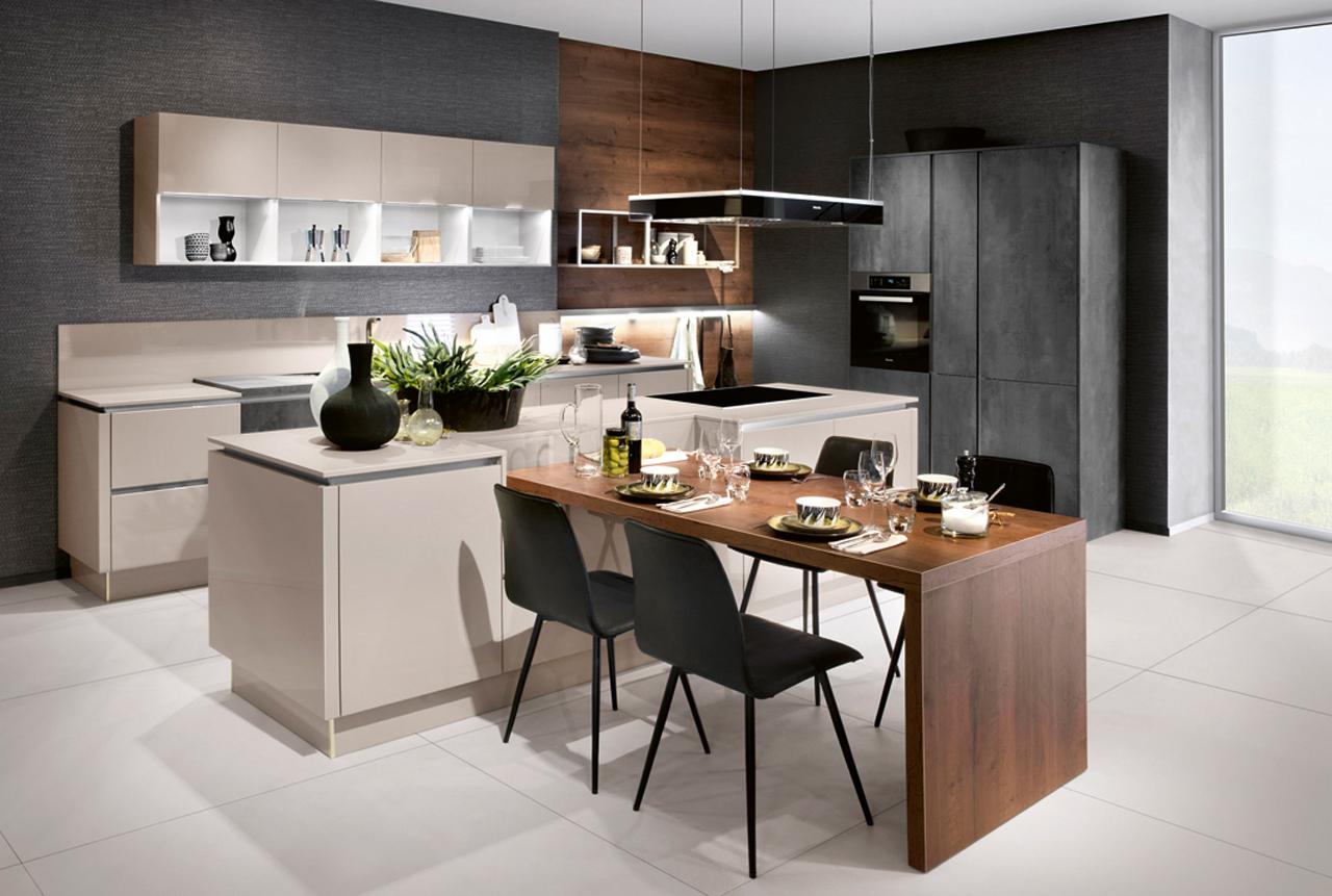 wohnung einrichten geometrische asthetik funktionell, kochen mit stil: prämierte küchenprodukte - red dot, Design ideen