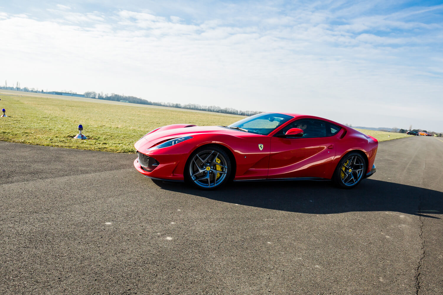 Ken Okuyama drives the Ferrari Portofino