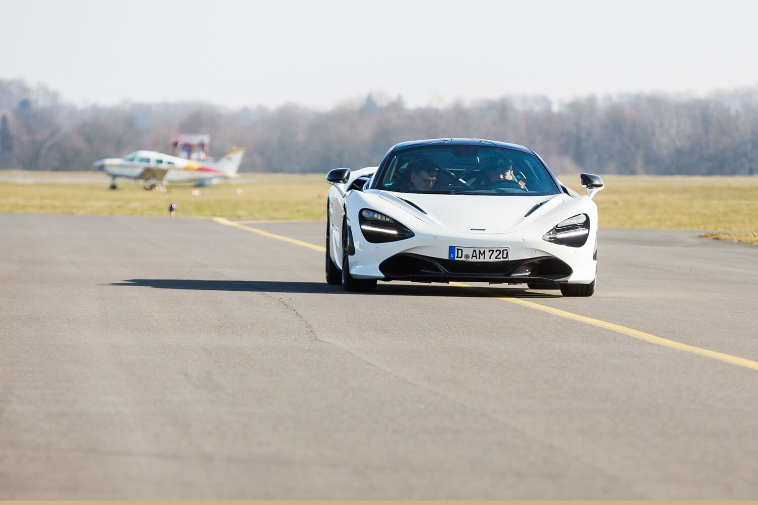 Ken Okuyama and Martin Darbyshire test the McLaren 720S