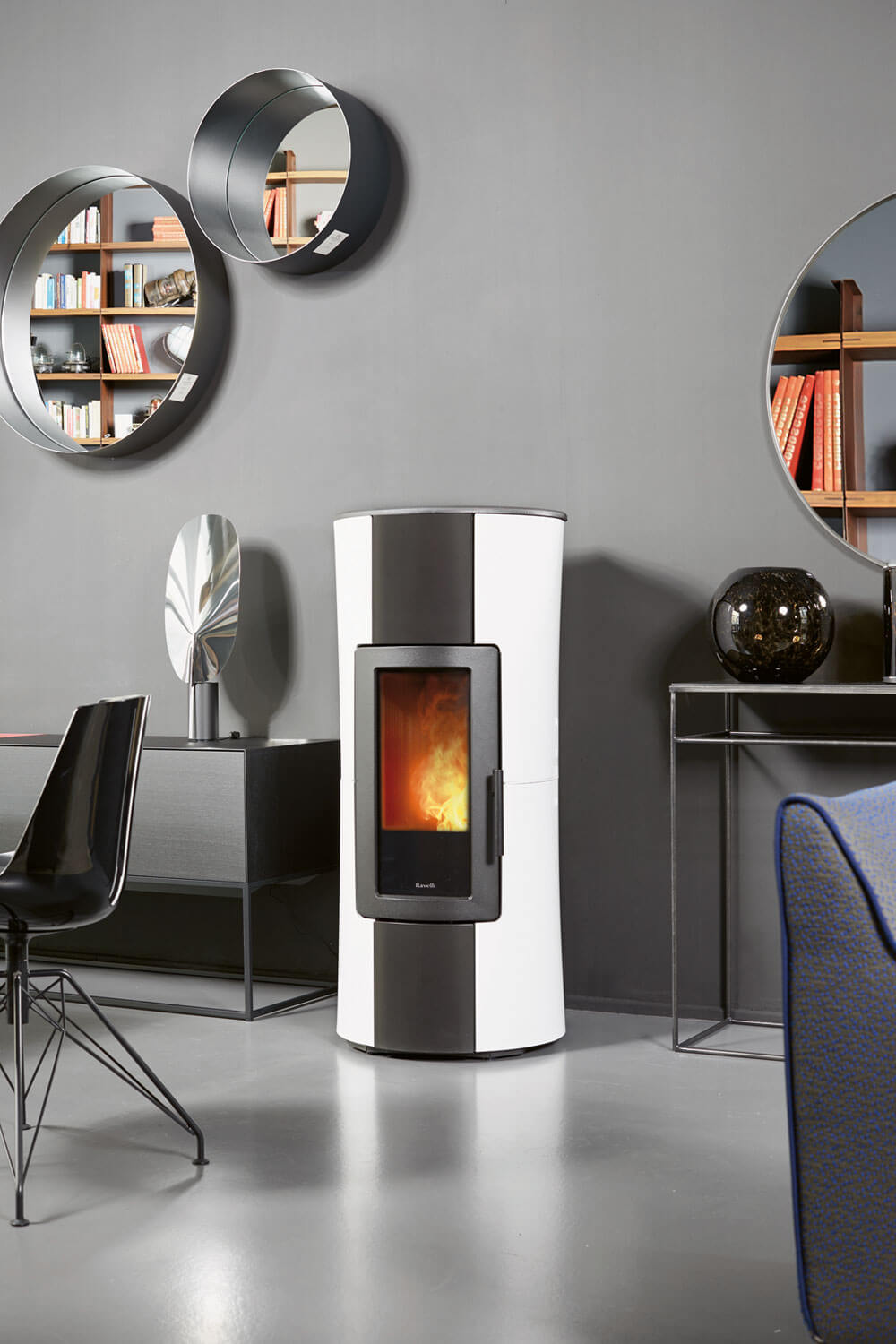 The stove Infinity by Ravelli