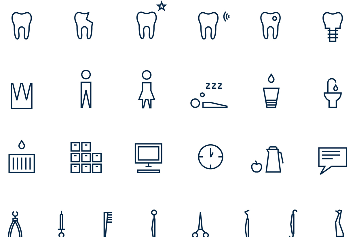 "The pictogram series ""Laughter is healthy"""