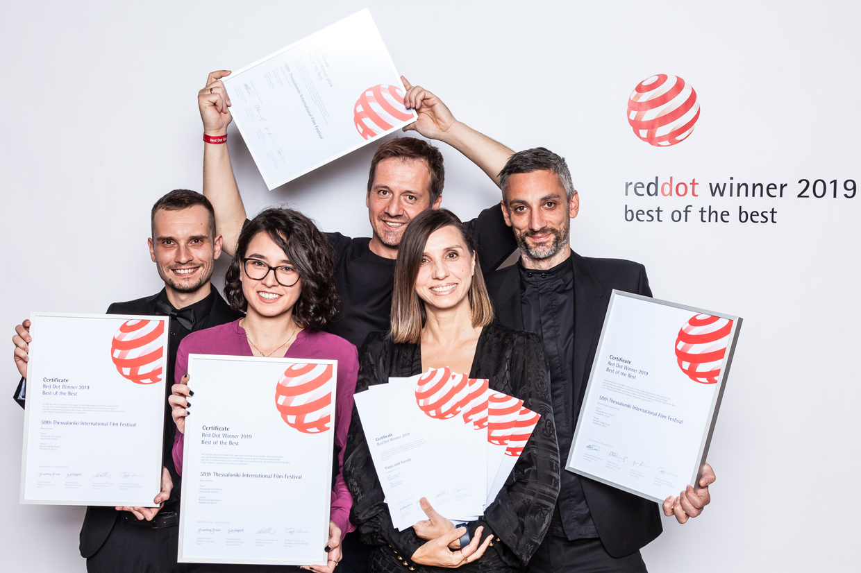 Proud winners with their certificates in Berlin 2019