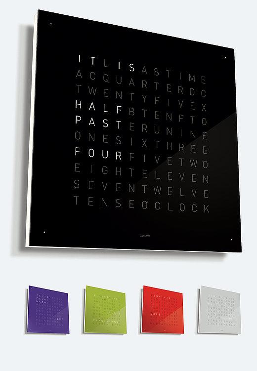 Qlocktwo Wand- und Tischuhr | Red Dot Design Award