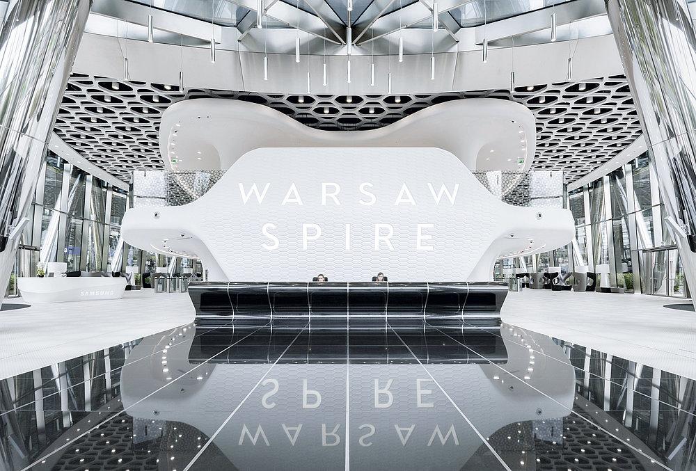 Warsaw Spire   Red Dot Design Award