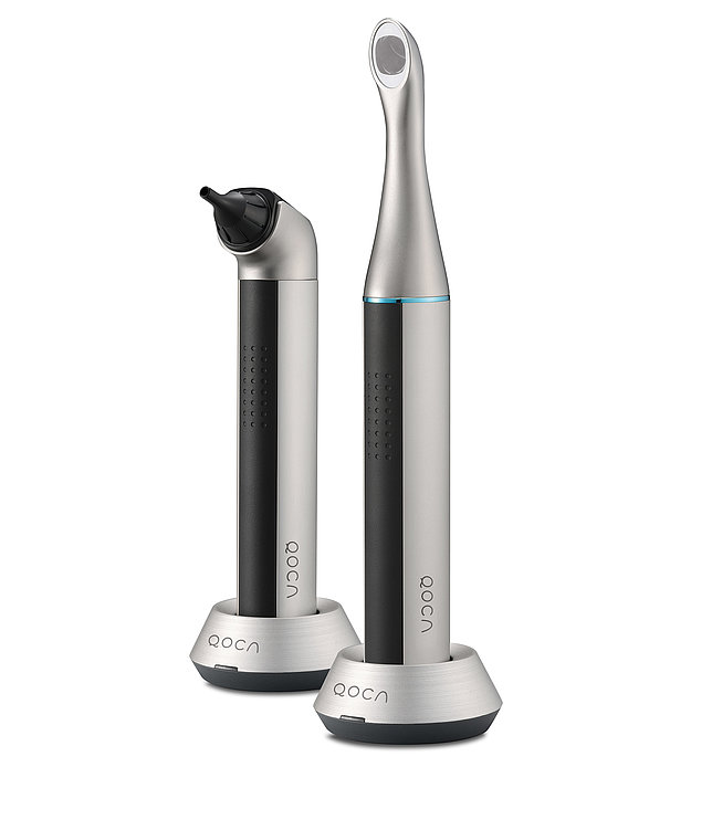 Q-tube Wi-Fi Teeth Scope Pro, Q-tube Wi-Fi Otoscope Pro | Red Dot Design Award