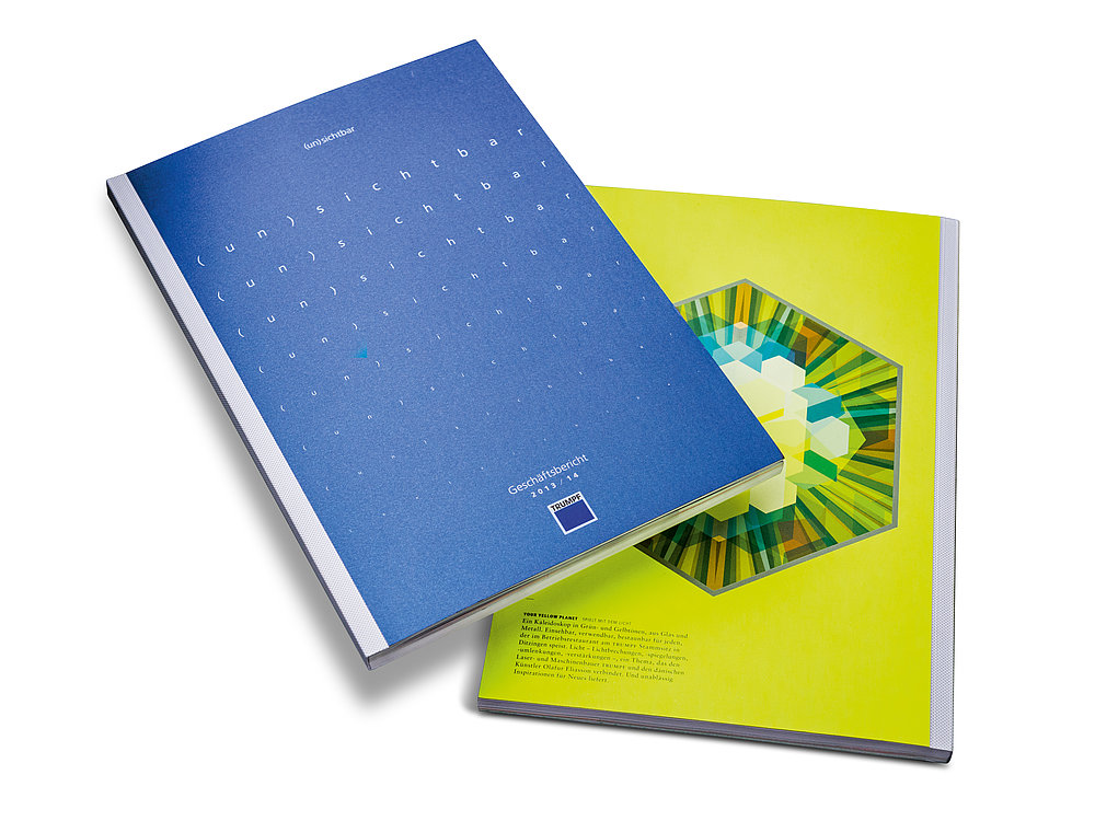 (in)visible – Trumpf Annual Report 2013/2014 | Red Dot Design Award