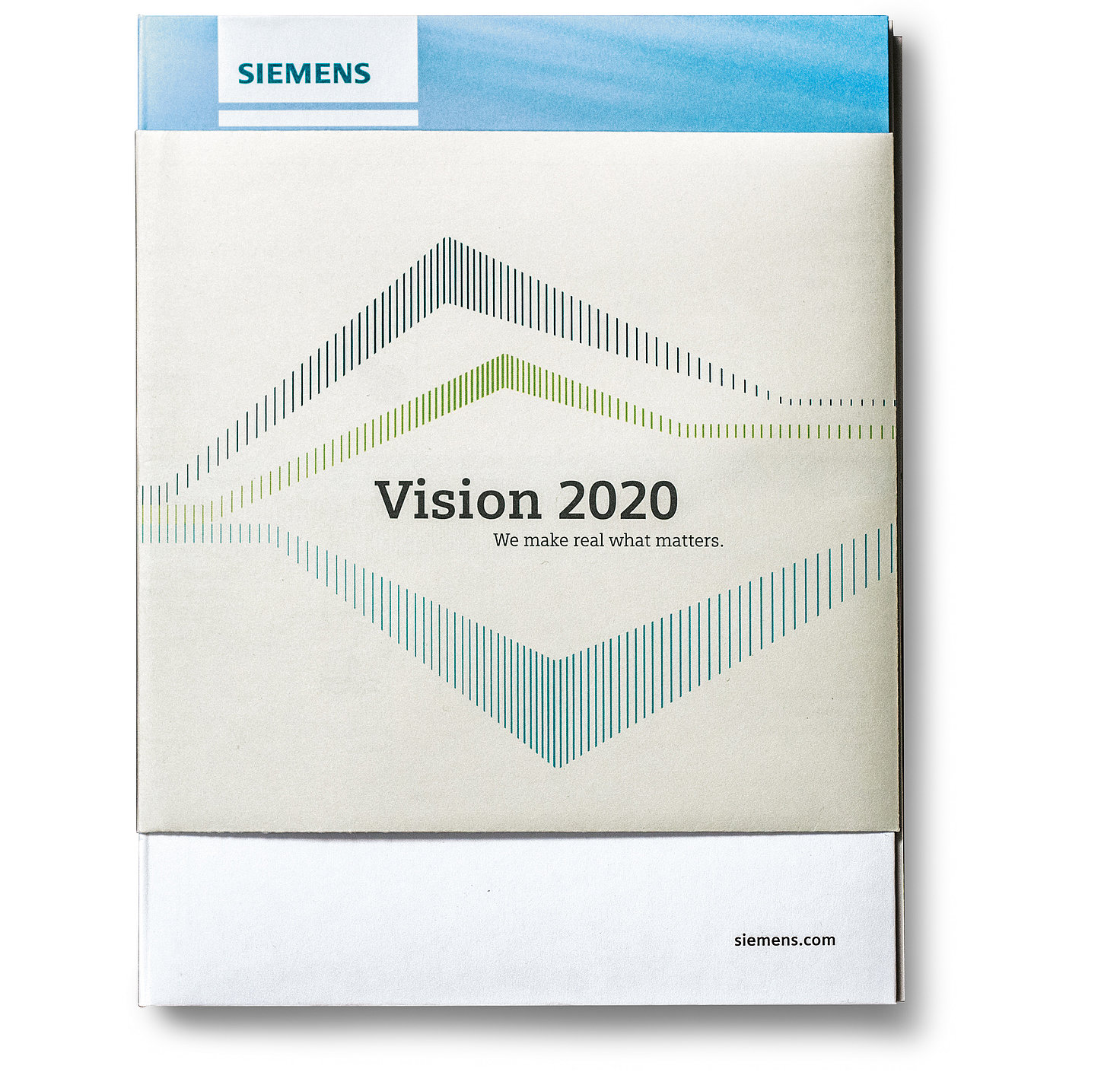 Vision 2020 – Siemens Annual Report 2014 | Red Dot Design Award