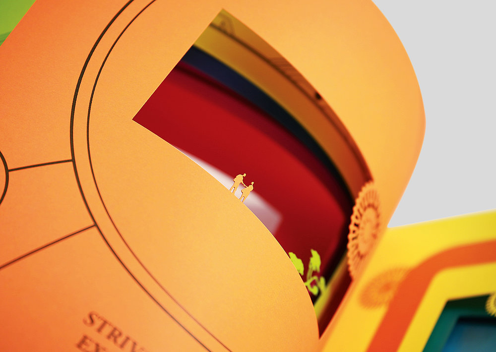 Clear Media Limited Annual Report 2014 | Red Dot Design Award