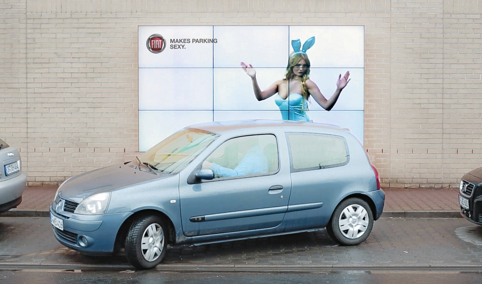 The Interactive Parking Billboard | Red Dot Design Award
