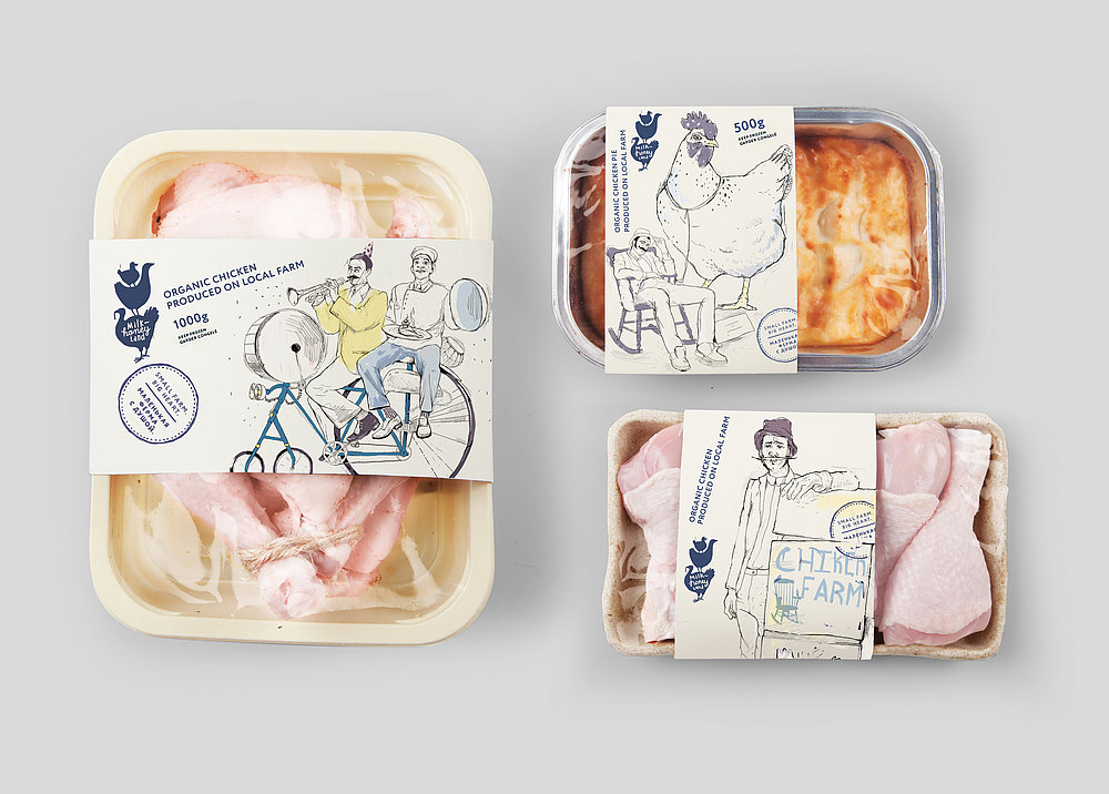 Delivery of Meat & Emotions | Red Dot Design Award