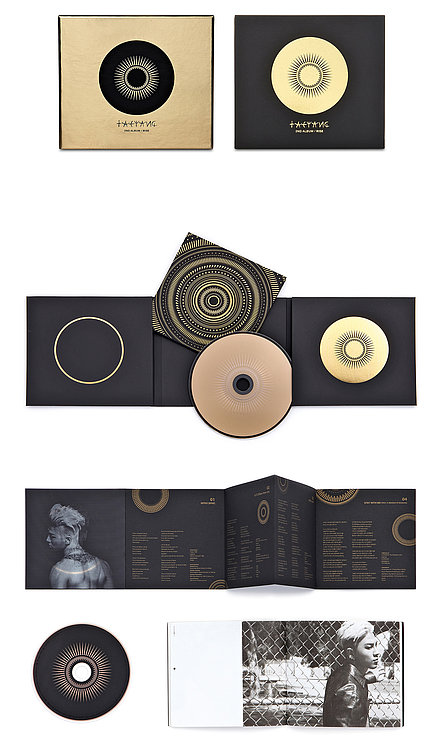 """Taeyang 2nd Album """"Rise"""" (Full Package)   Red Dot Design Award"""