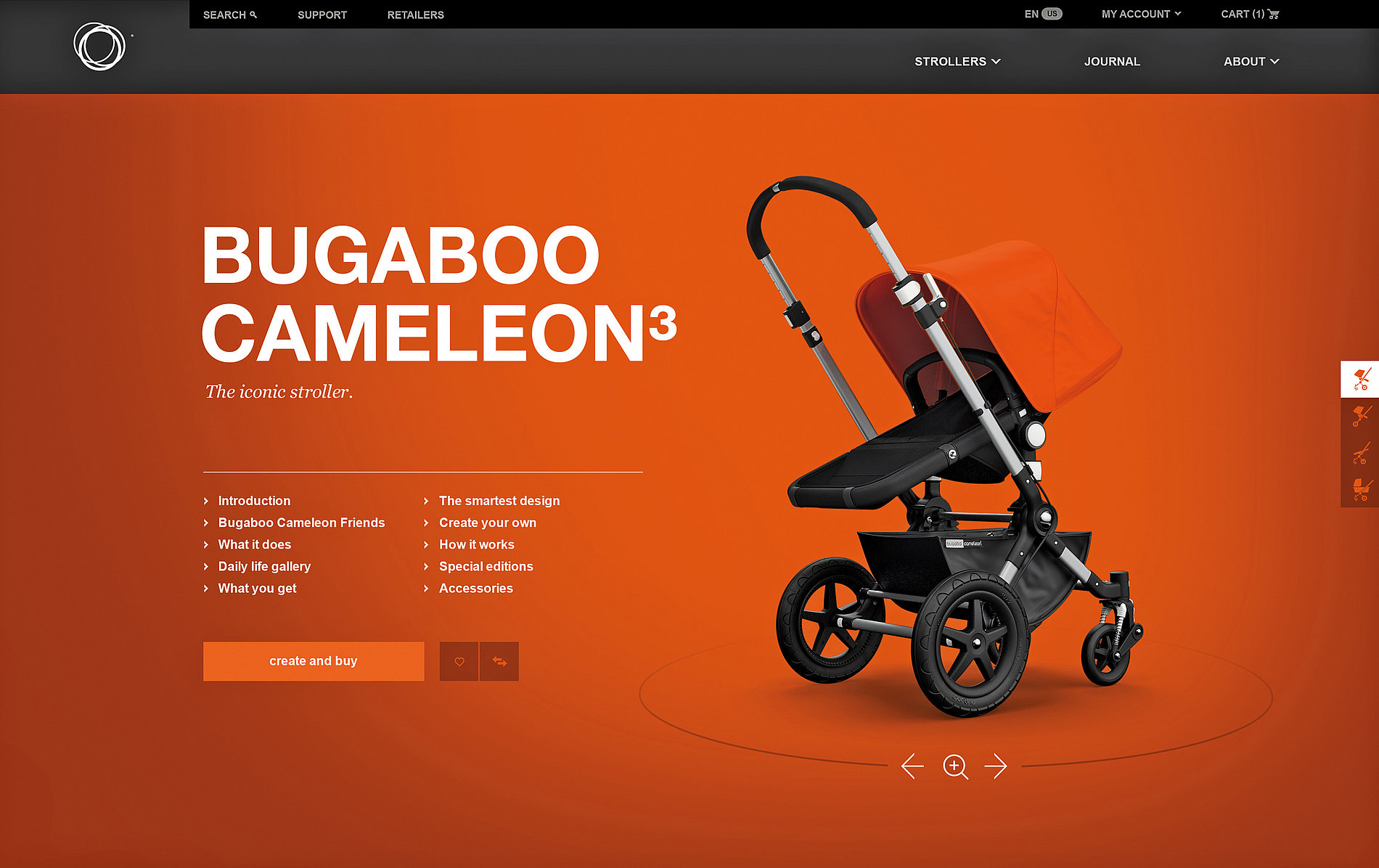 Bugaboo.com | Red Dot Design Award