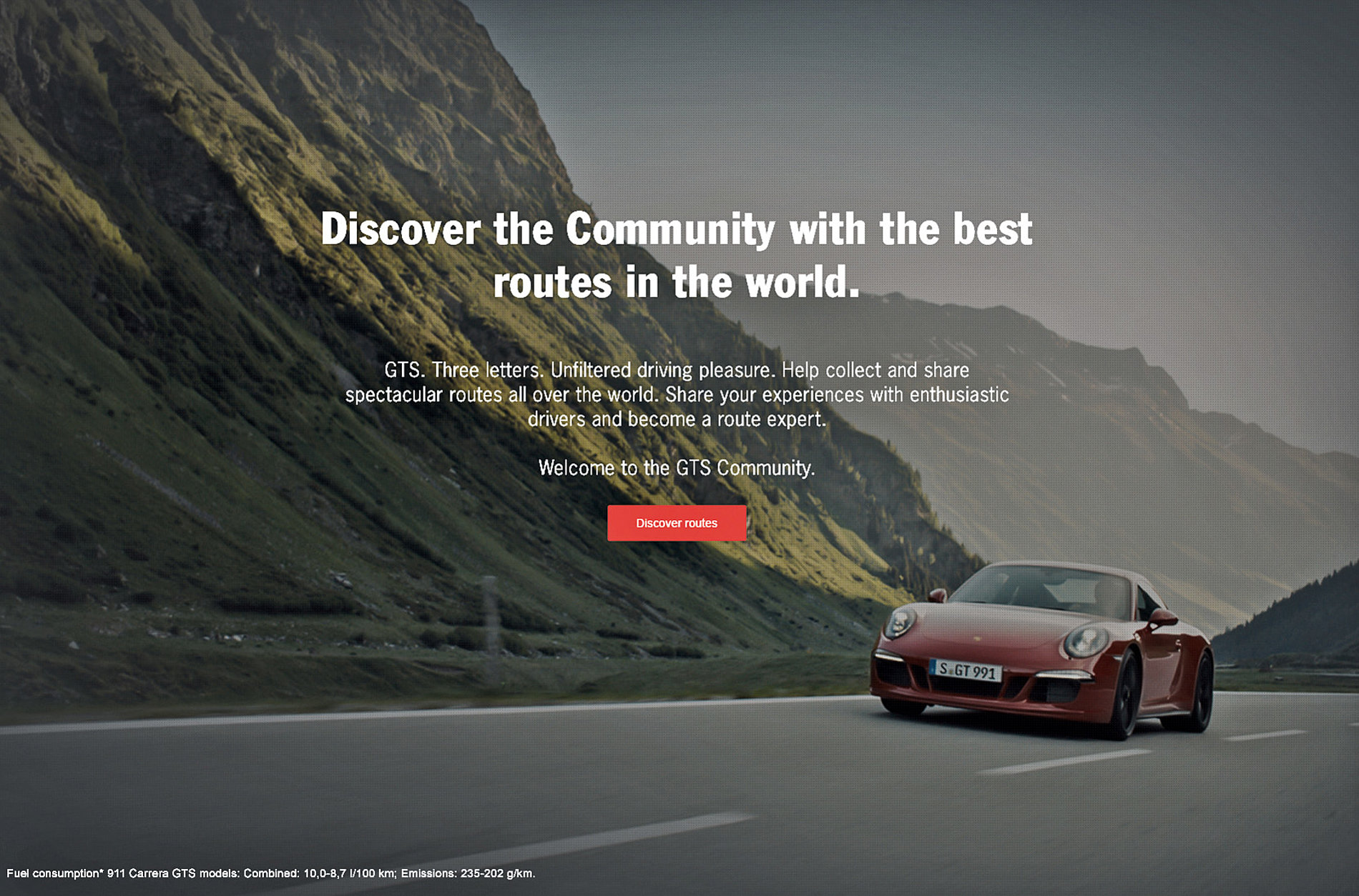 Porsche GTS Community | Red Dot Design Award