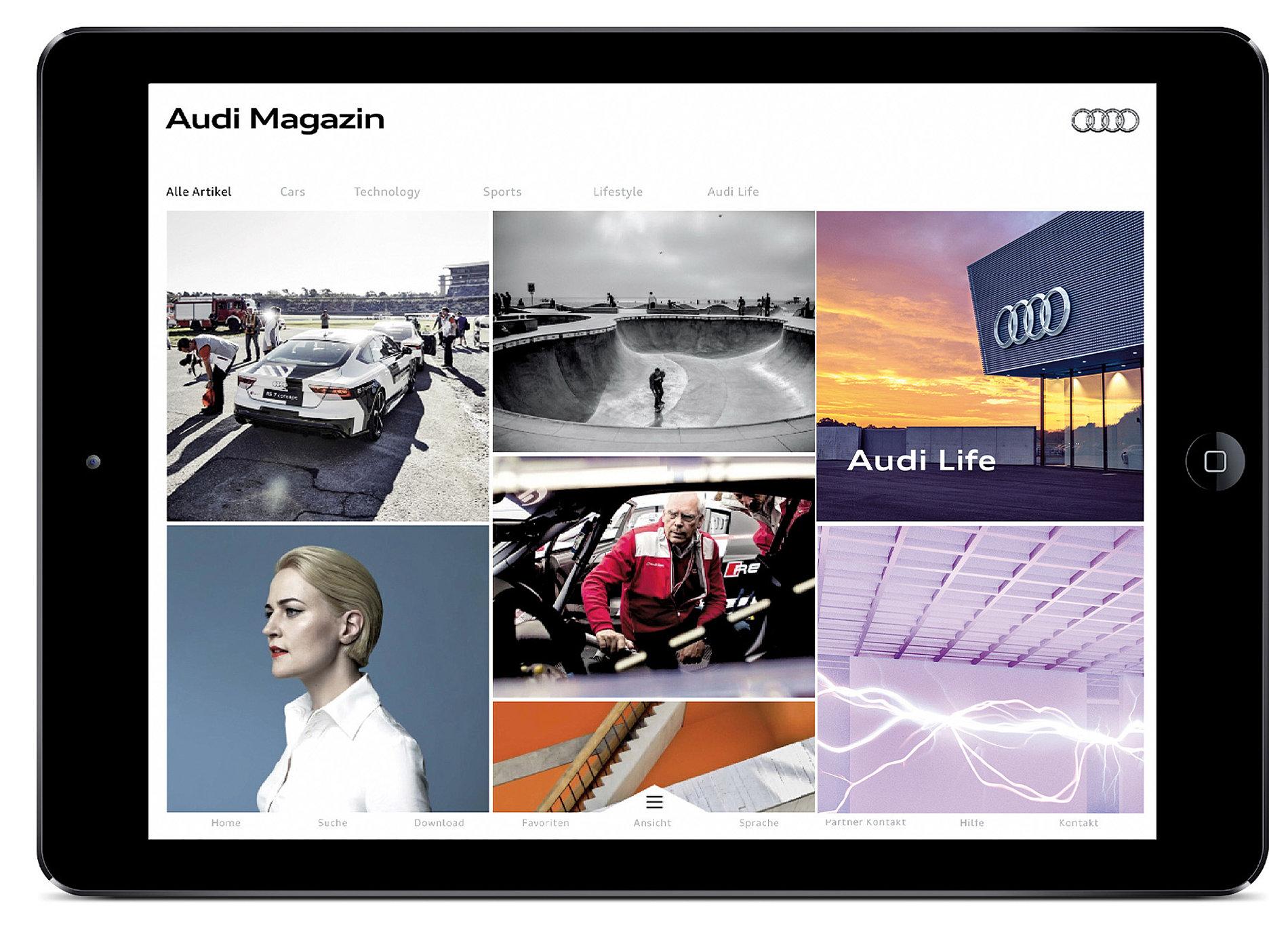 Audi Magazine   Red Dot Design Award