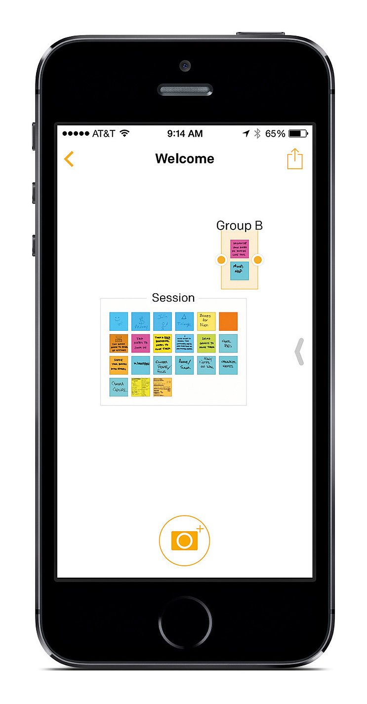 Post-it® Plus App | Red Dot Design Award