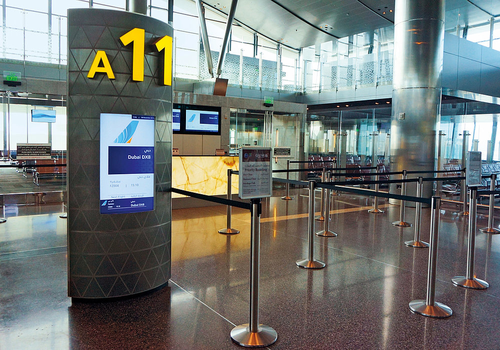 Flight Information Display System (FIDS) | Red Dot Design Award