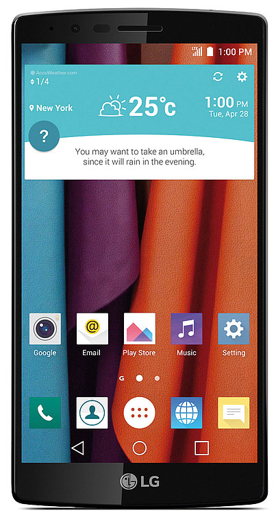 LG G4 Smartphone GUI   Red Dot Design Award