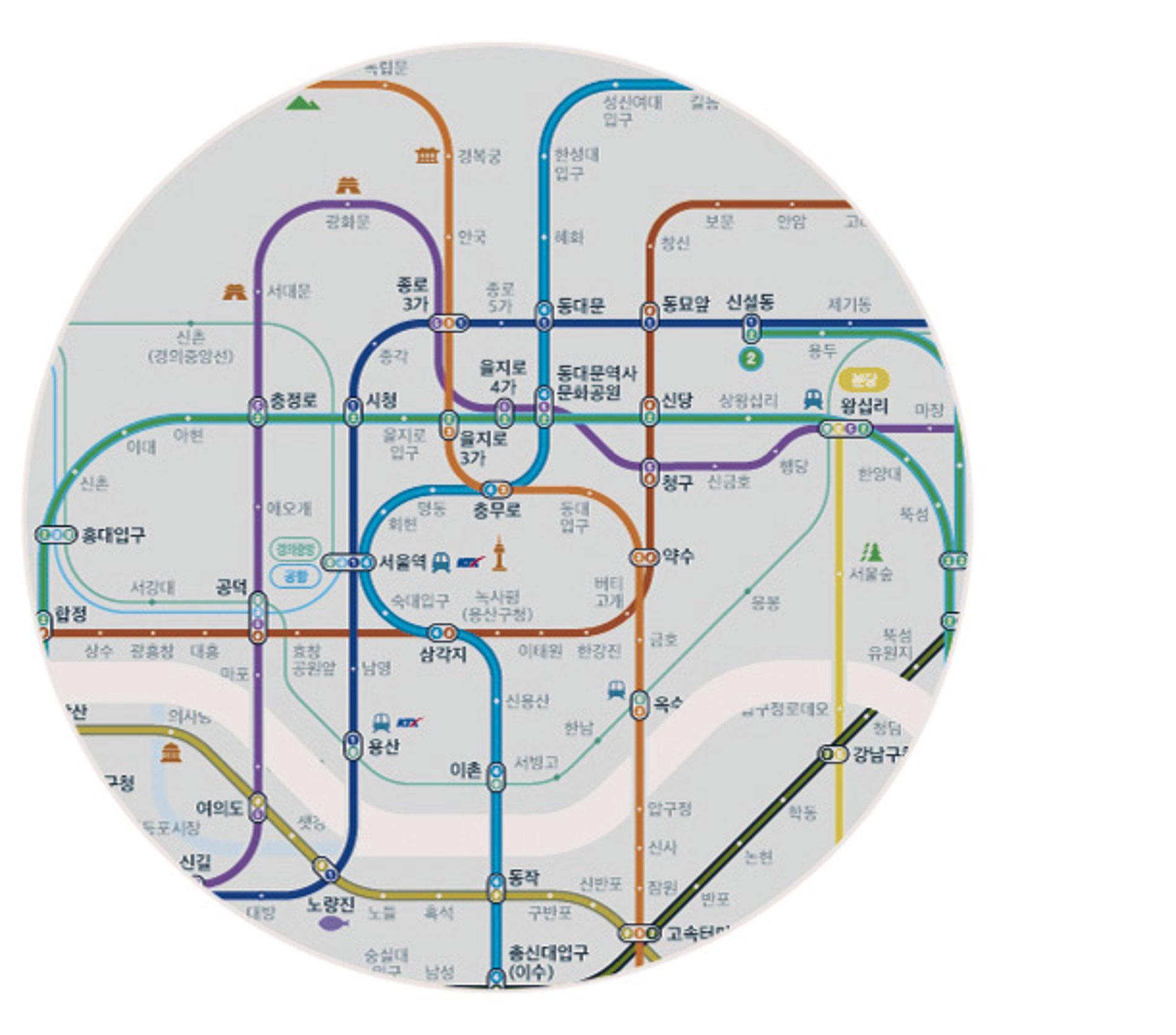 Subway Map for Colour-Blind People | Red Dot Design Award