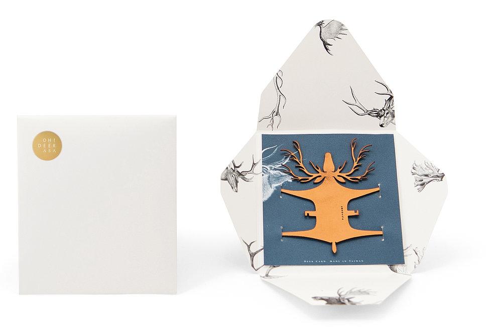 Deer Card | Red Dot Design Award