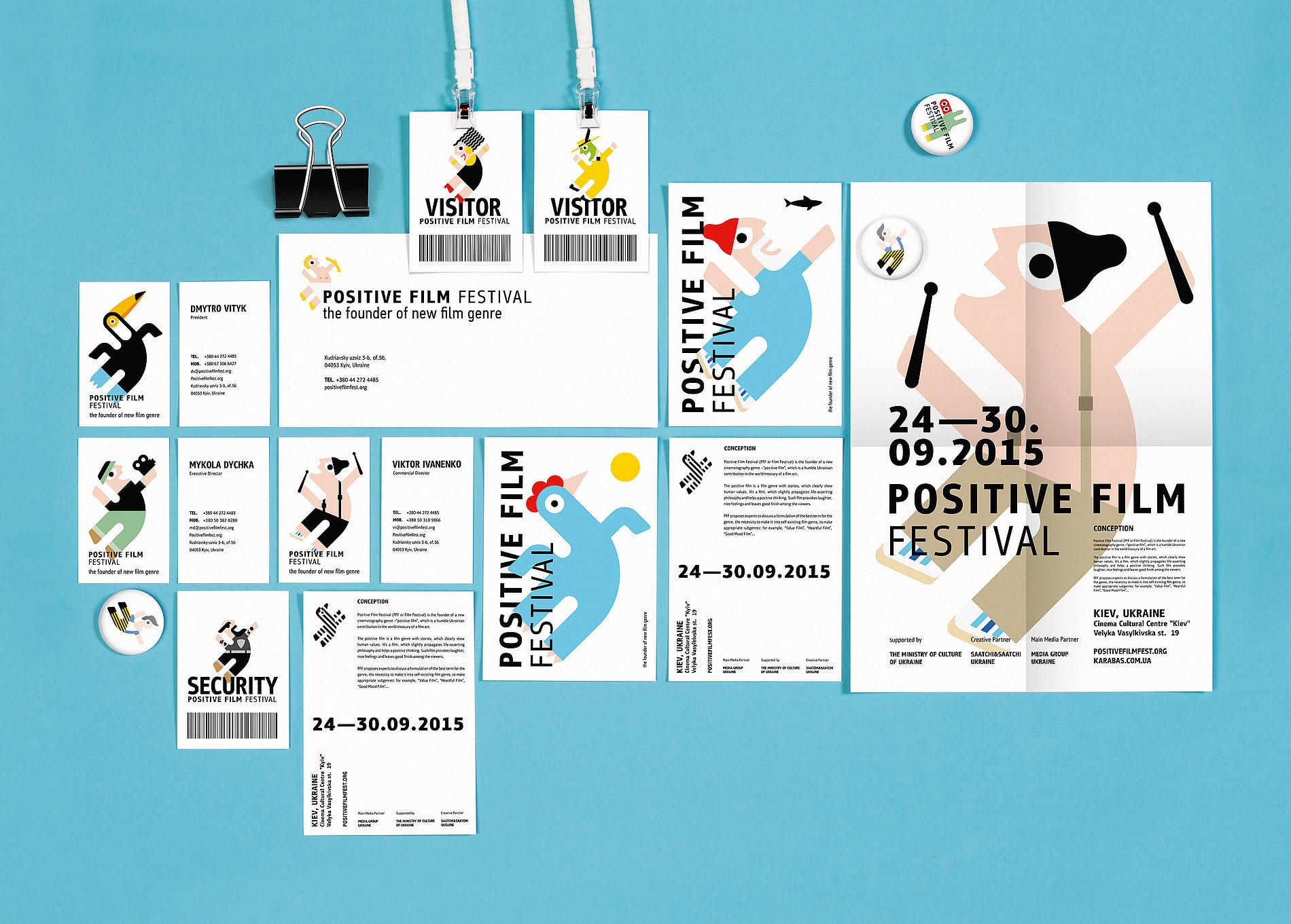 Positive Film Festival | Red Dot Design Award