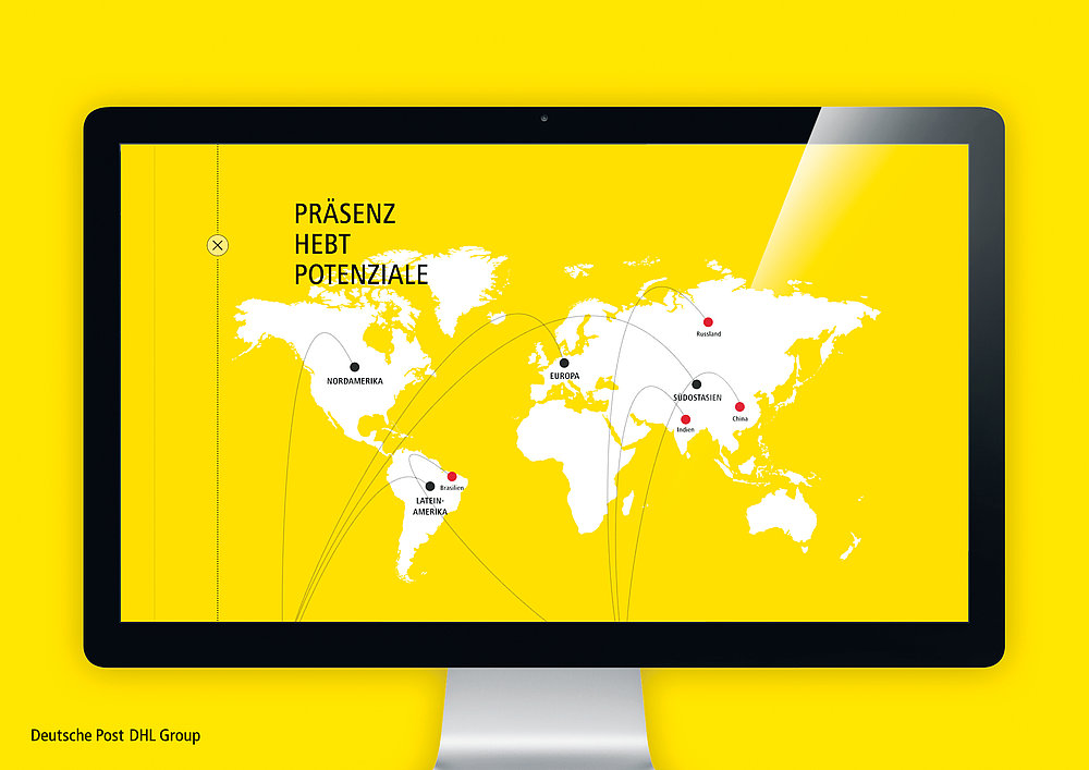 Deutsche Post  DHL Group  Annual Report 2015 | Red Dot Design Award