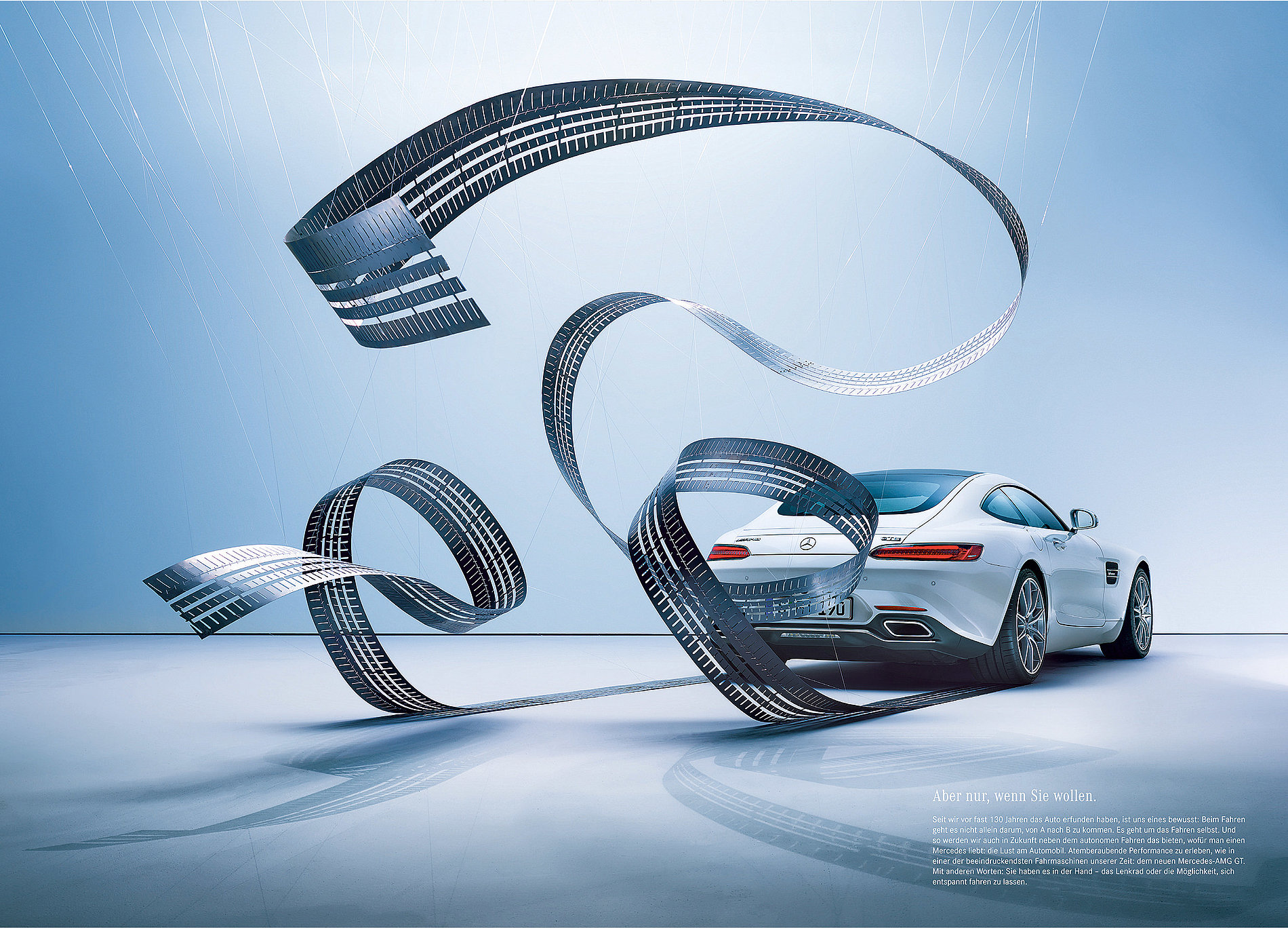 Nobody Has to Drive a Mercedes | Red Dot Design Award