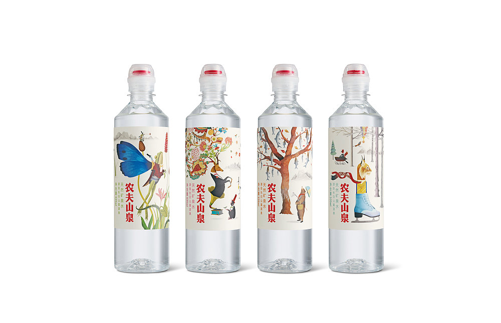 Nongfu Spring  Mineral Water for Kids | Red Dot Design Award