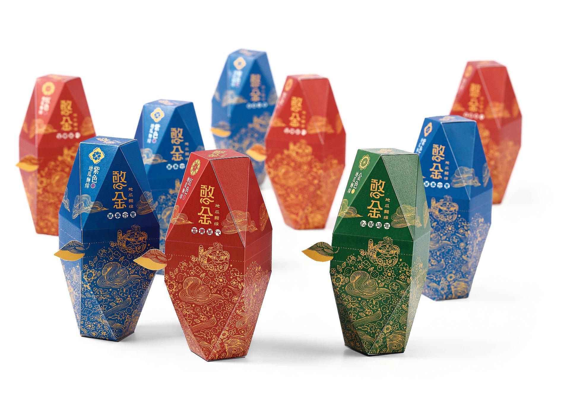 Ingenuous Gold-Sweet Potato Vermicelli | Red Dot Design Award