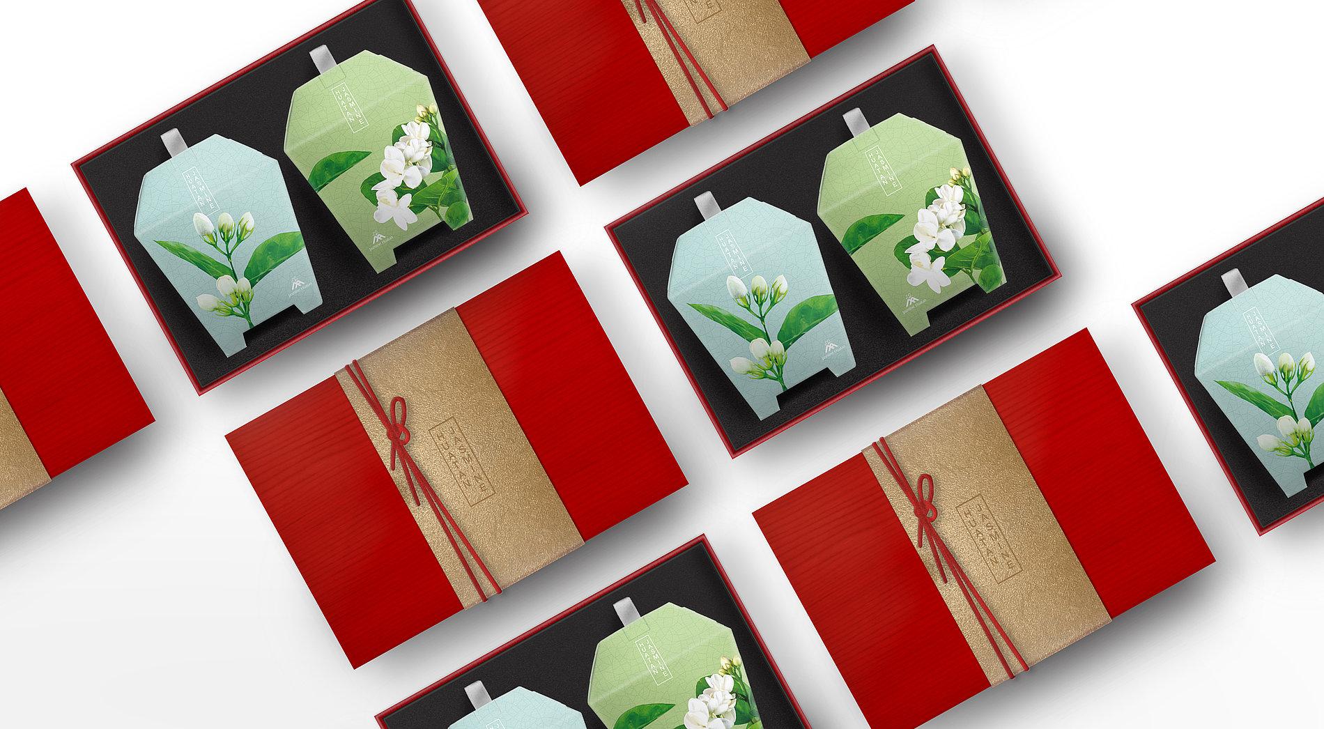 Blossom with Grace – Jasmine Tea Bag  Collection | Red Dot Design Award