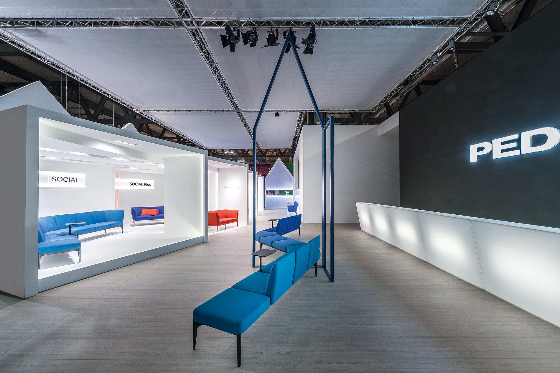 Pedrali Urban Life –  Pedrali Fair Stand Salone del Mobile 2016   Red Dot Design Award