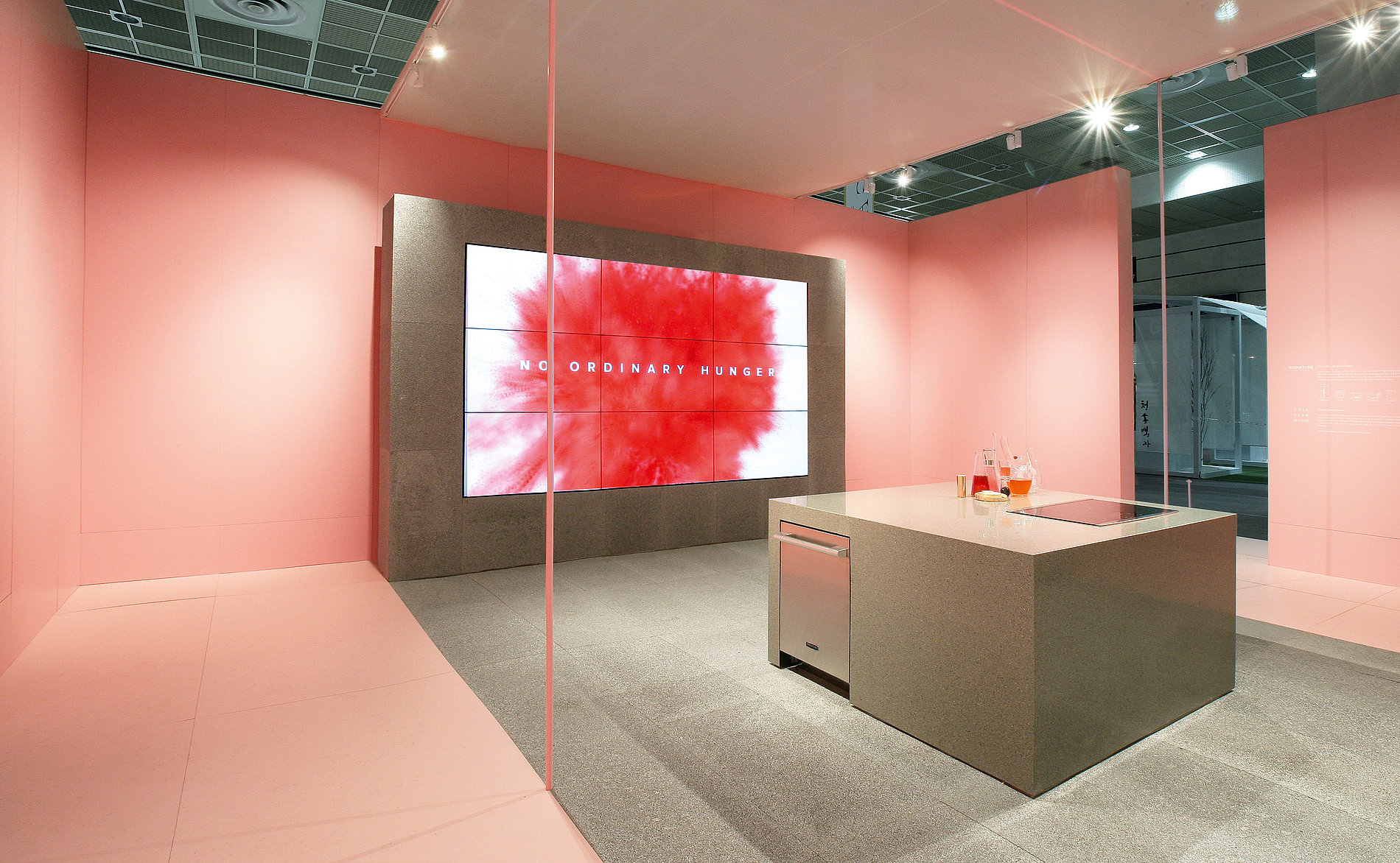 Signature Kitchen Suite Fair Stand | Red Dot Design Award