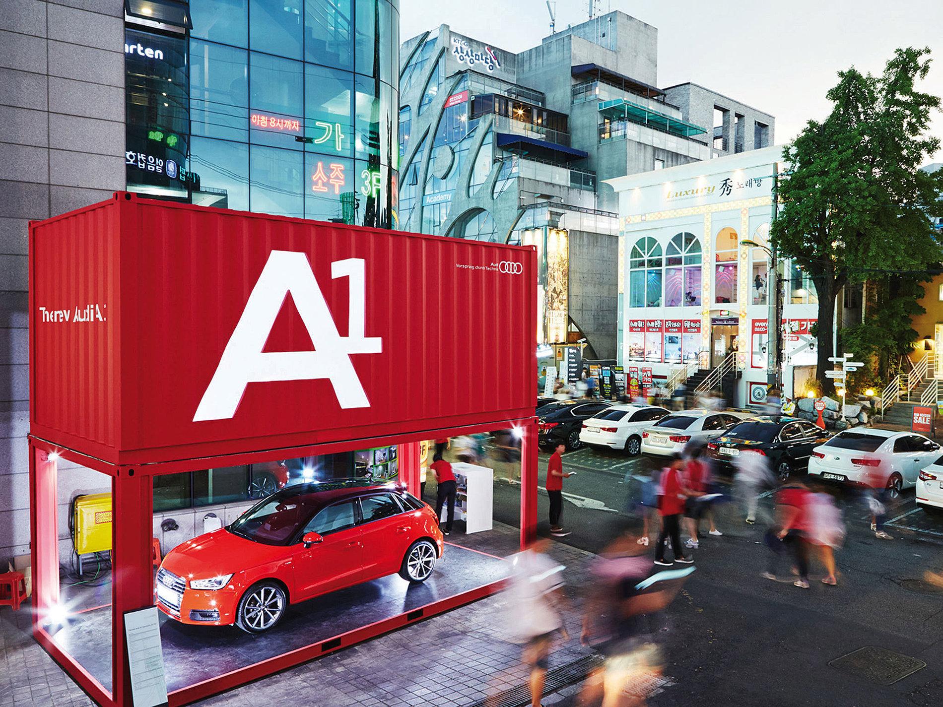 Audi A1 Launch | Red Dot Design Award