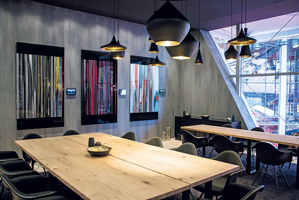 Berlinale Fireplace Lounge | Red Dot Design Award