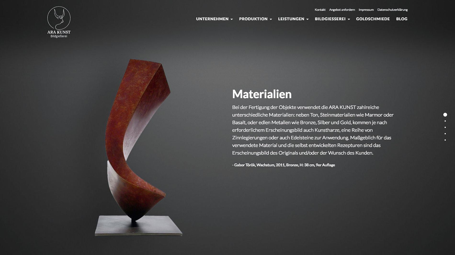 ARA KUNST | Red Dot Design Award