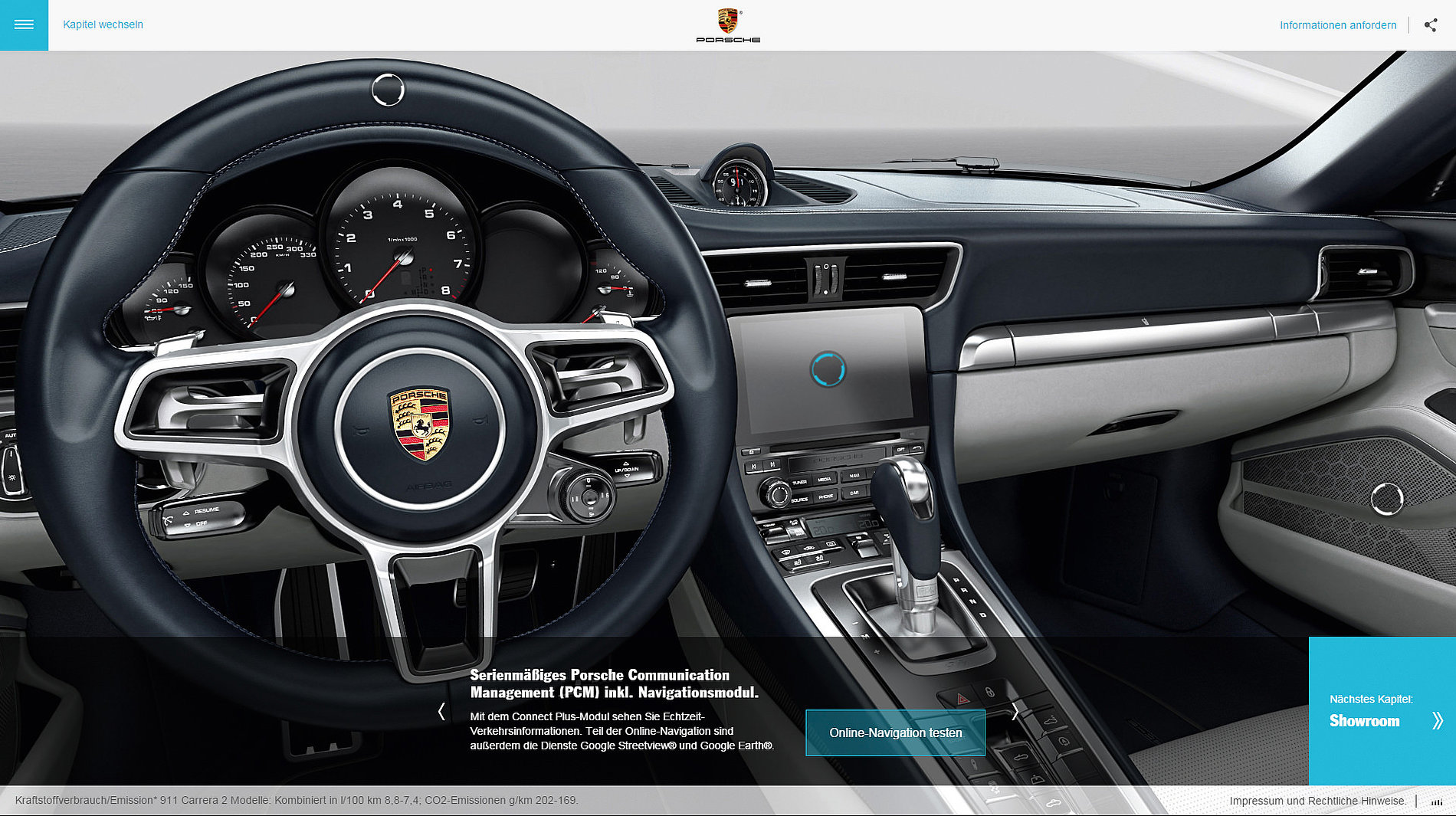 The new 911.  Ever ahead. | Red Dot Design Award