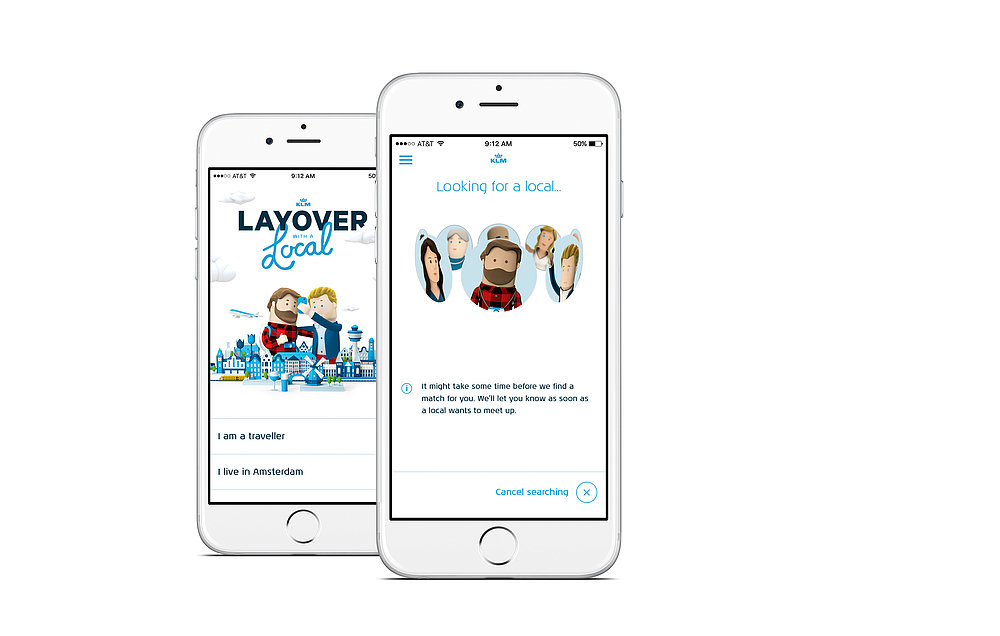 KLM Layover  with a Local | Red Dot Design Award