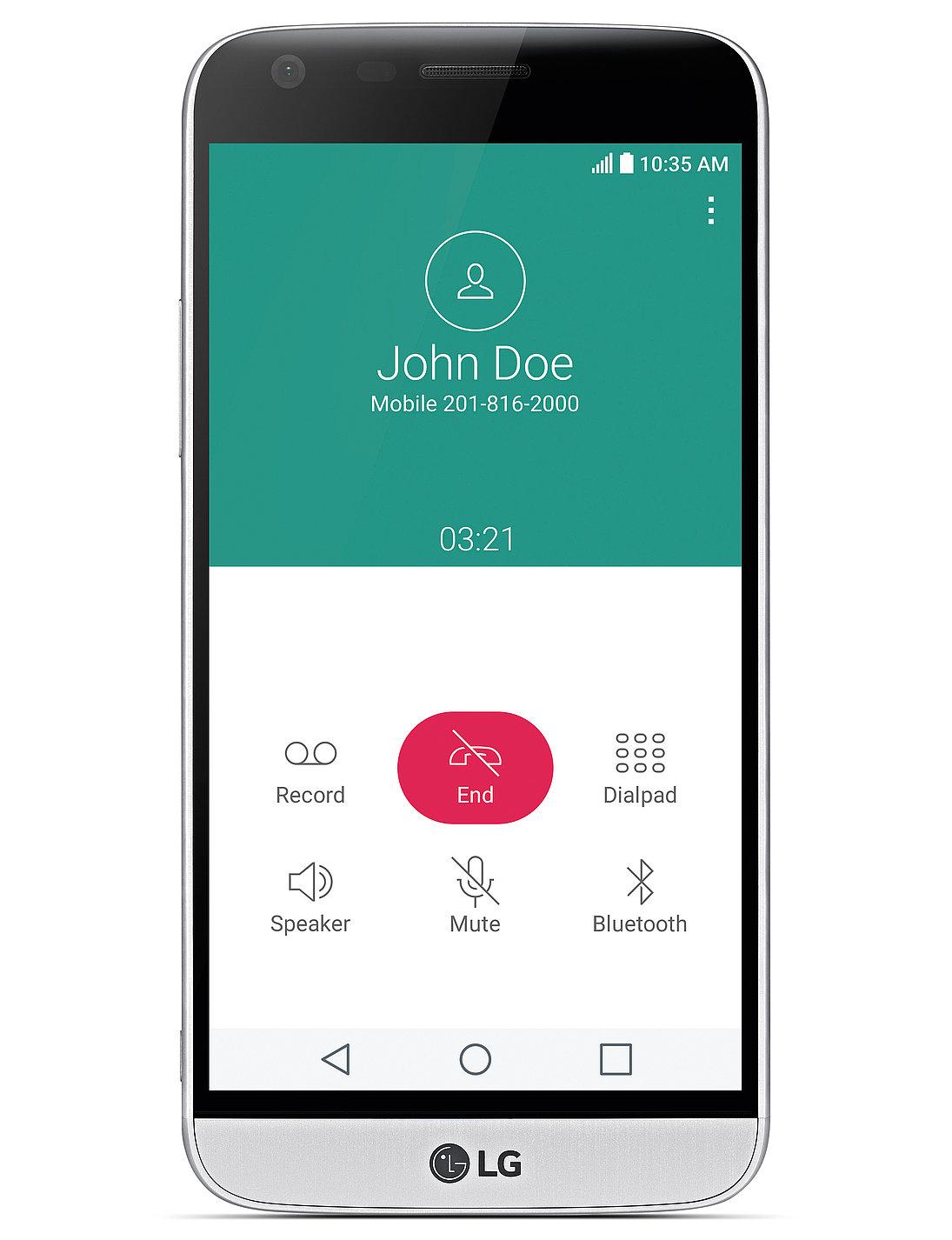 LG G5 GUI | Red Dot Design Award