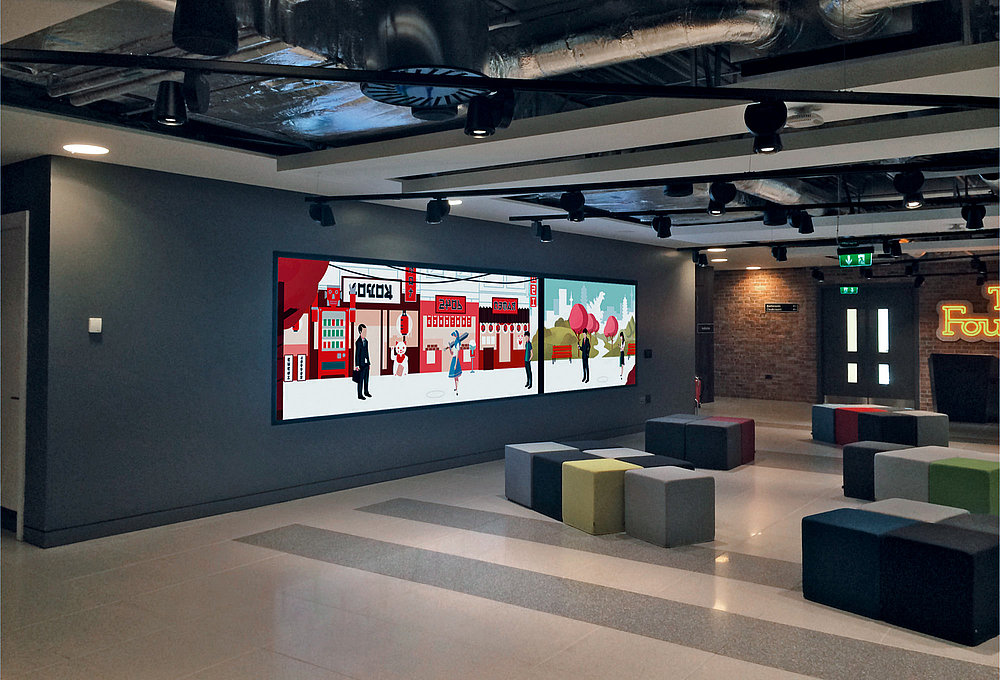 Google Video Wall | Red Dot Design Award