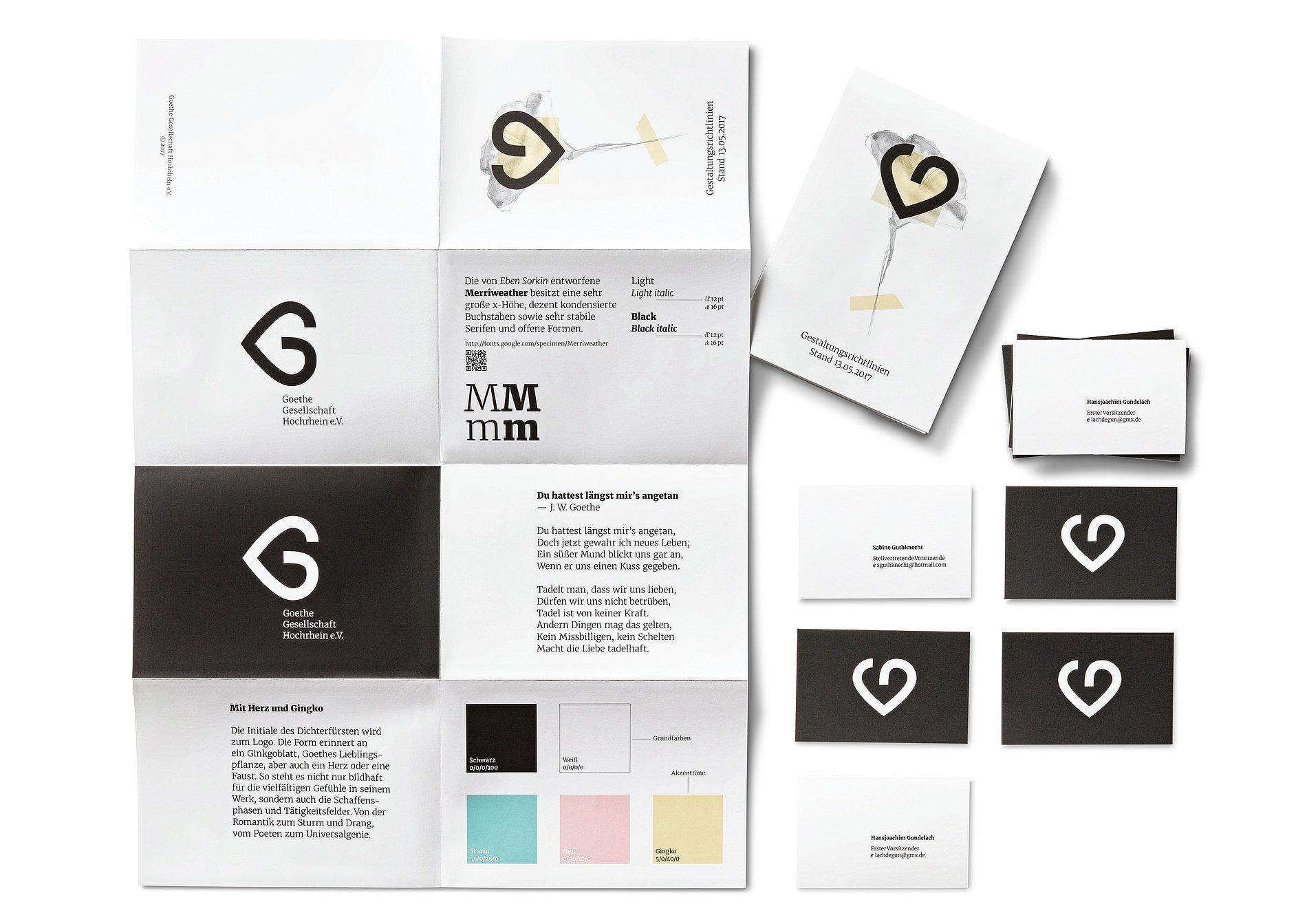 Goethe-Gesellschaft Hochrhein | Red Dot Design Award