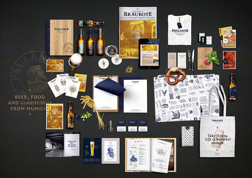 Paulaner Bräuhäuser Worldwide | Red Dot Design Award